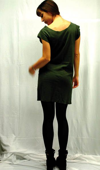GLV short 100% wool dress