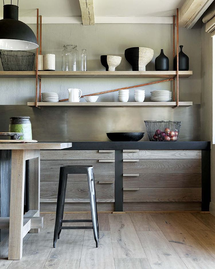 Country Kitchen Ramona: Architect @lizzylipstick Designed This Cabinetry With