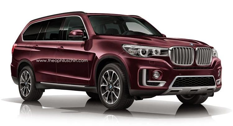Bmw X7 2016 Bimmer X Series Suv Usa Na