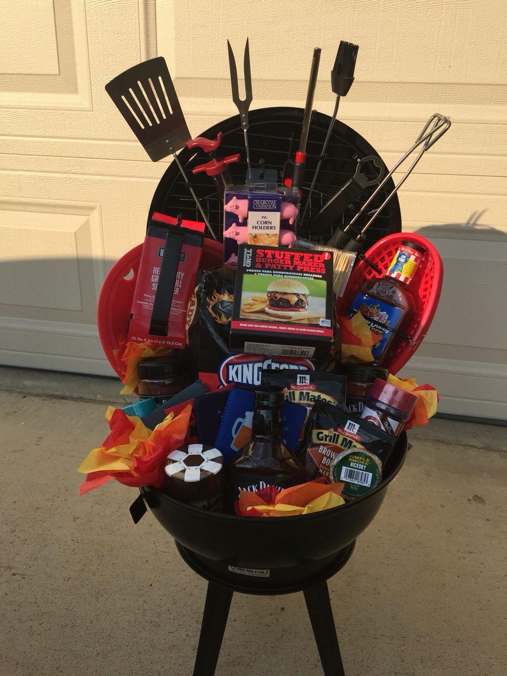 My Bbq Gift Basket Diy Gift Baskets Raffle Baskets