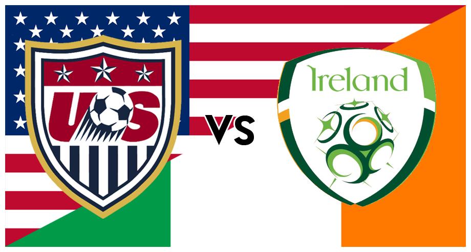 Usa vs ireland soccer