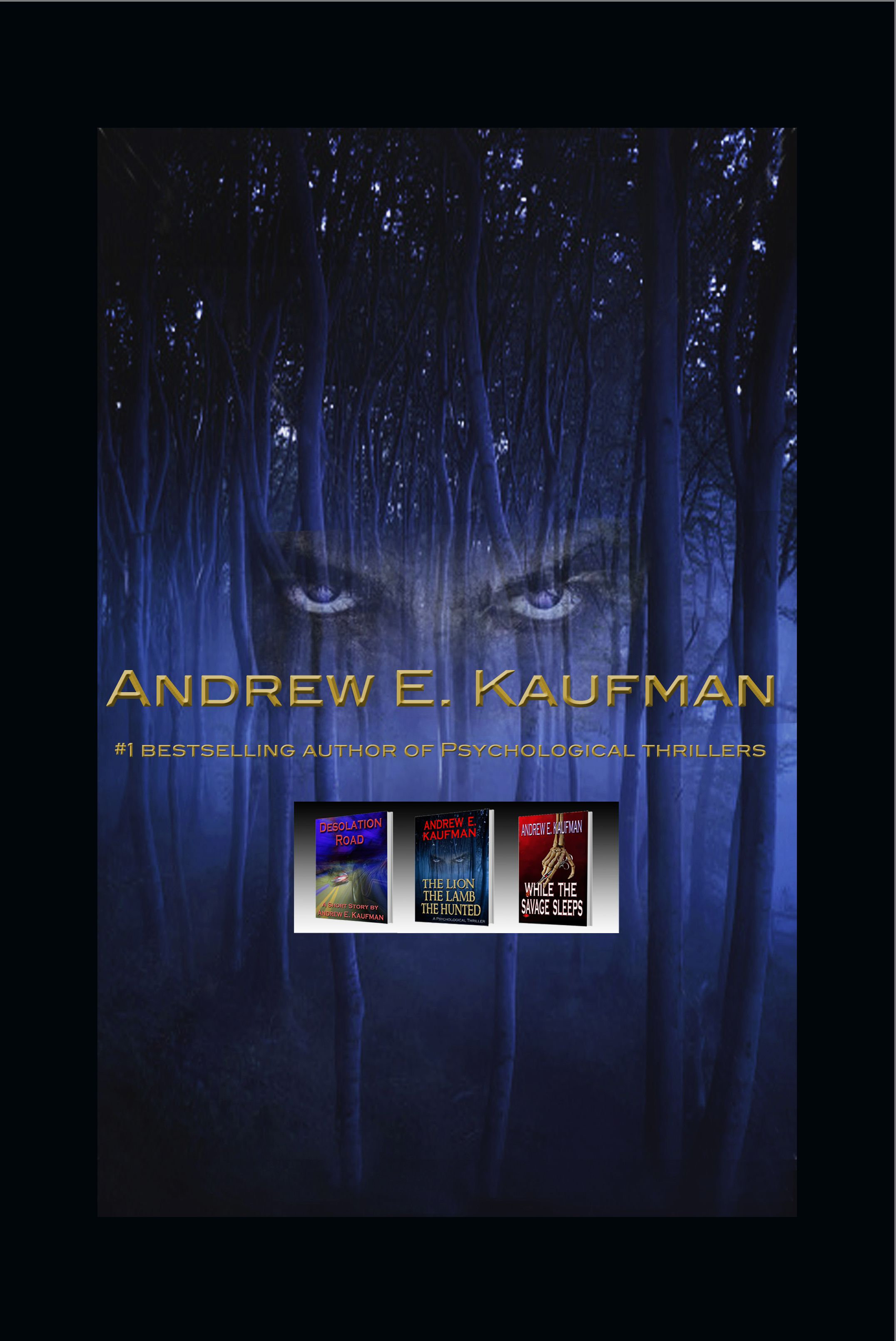 Andrew E. Kaufman is a fantastic author. On October 22 d7bff0067