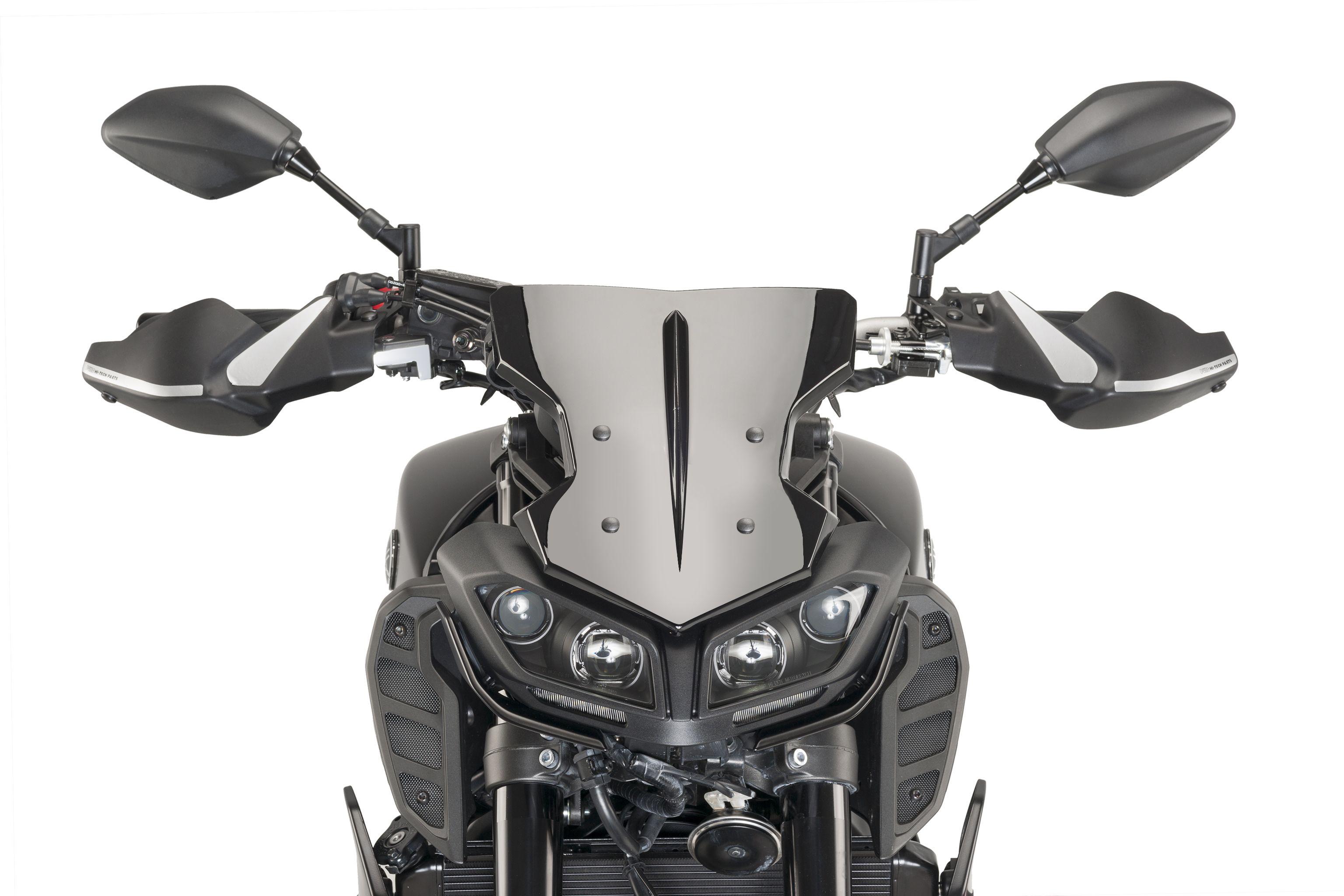 Yamaha Mt 09 2017 By Puig Handguards Sport Screen Yes