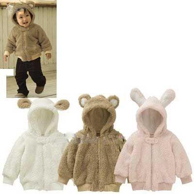 7b9ad9371504 Kids Bear Hood Hoodie