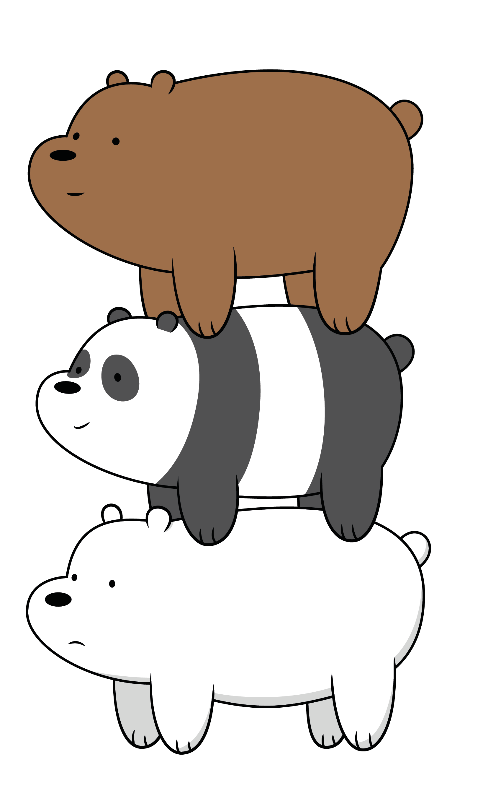 [Vector] We Bare Bears by FALExD on DeviantArt