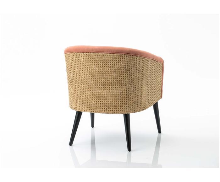 Fotel Canne Orange 64 X 68 X 76 Cm Westwing Wicker Chair Decor Chair