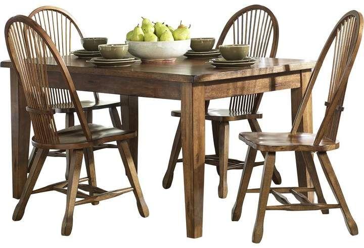 Greyleigh Industry 5 Piece Dining Set Dining Table Solid Wood Dining Table Dining Table In Kitchen
