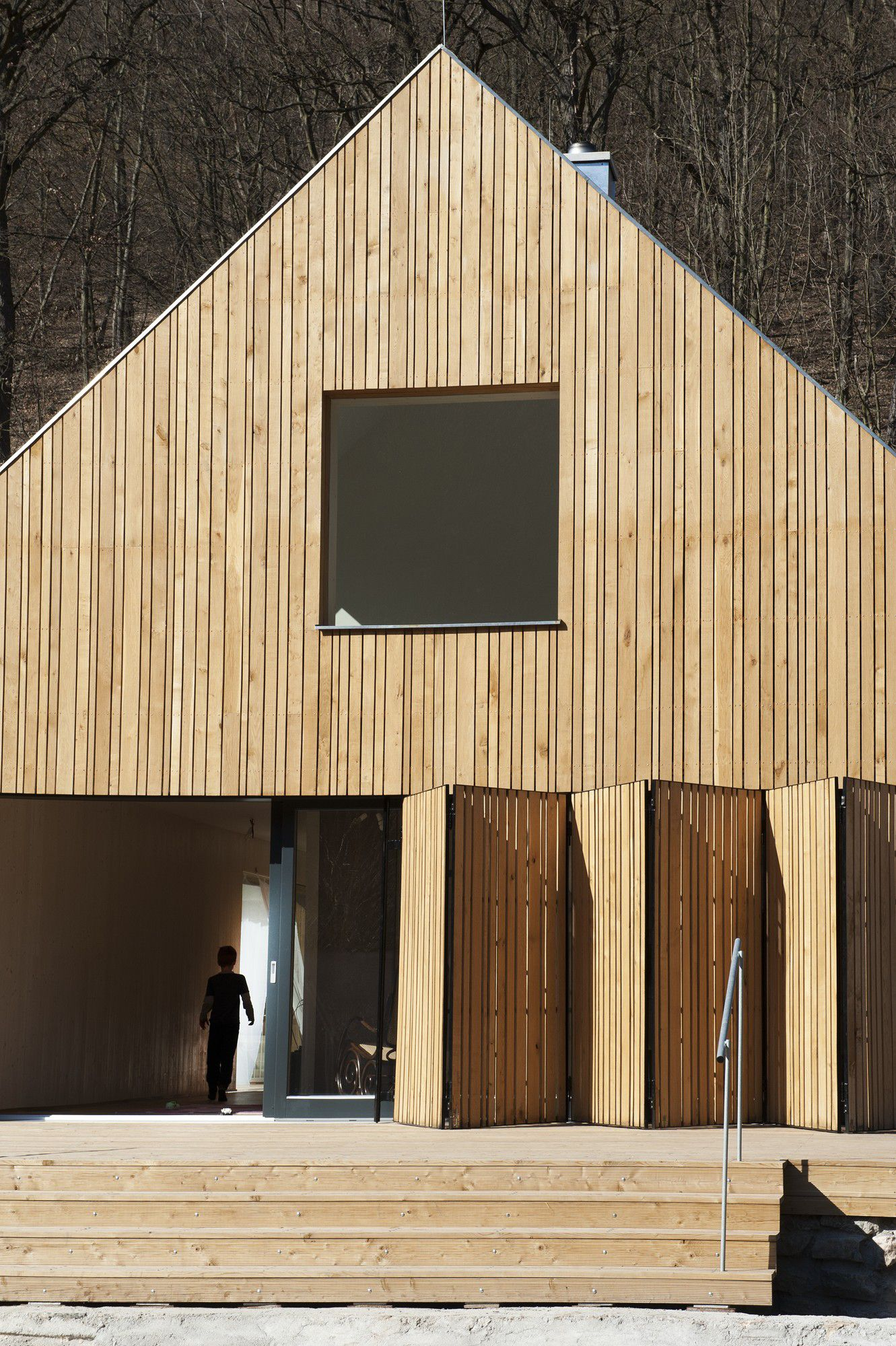 Single family house in esk kras exterior ideas siding maison bois maison bardage for Construction bois 93