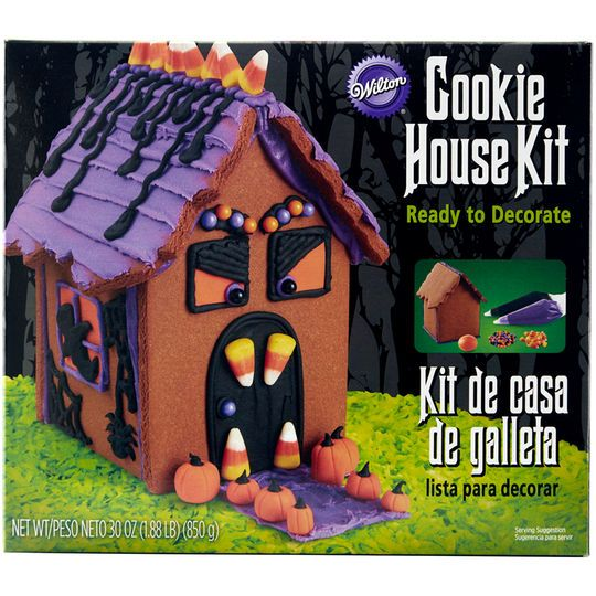 Buy The Wilton Haunted Gingerbread Cookie House Kit At Michaels Com