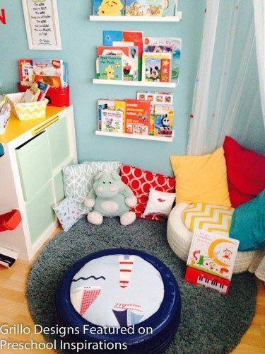 Cozy Corner With Tire Seating Reading Cornerarea Pinterest