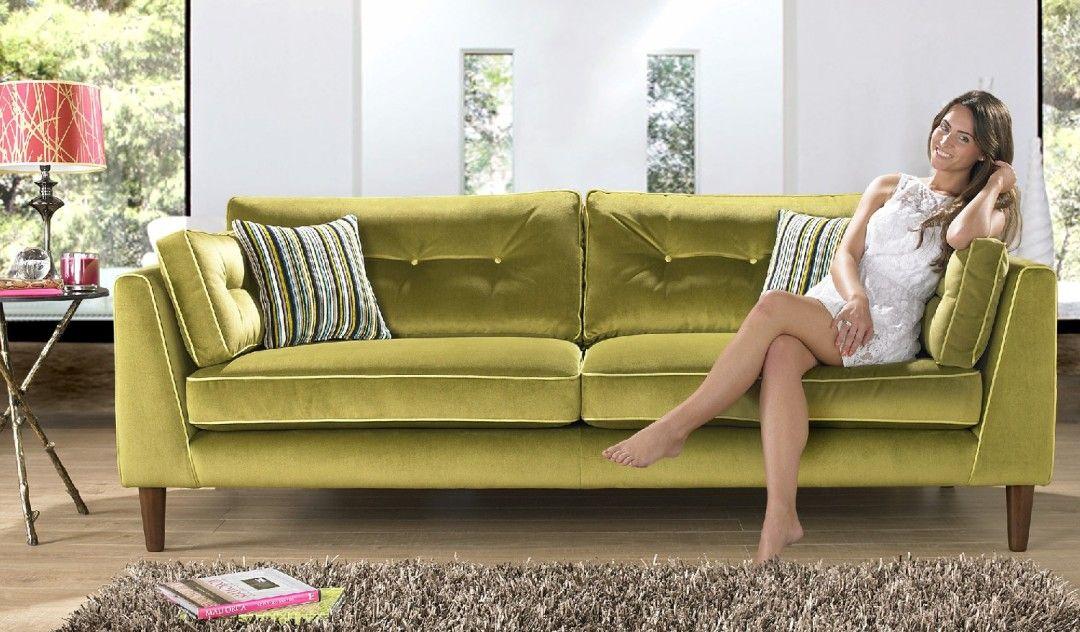 Check Out The Cricket At Sofology Backroom Ideas In 2019 Sofa Fabric Sofa Green Velvet Sofa