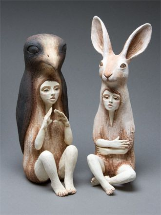 Crystal Morey Sculpture And Drawing Art Dolls Ceramic Art Sculpture