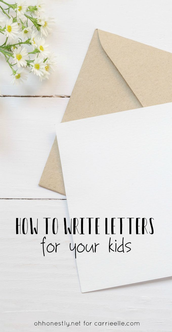 The LetterWriting Tradition You Can Start This Year  Parents And