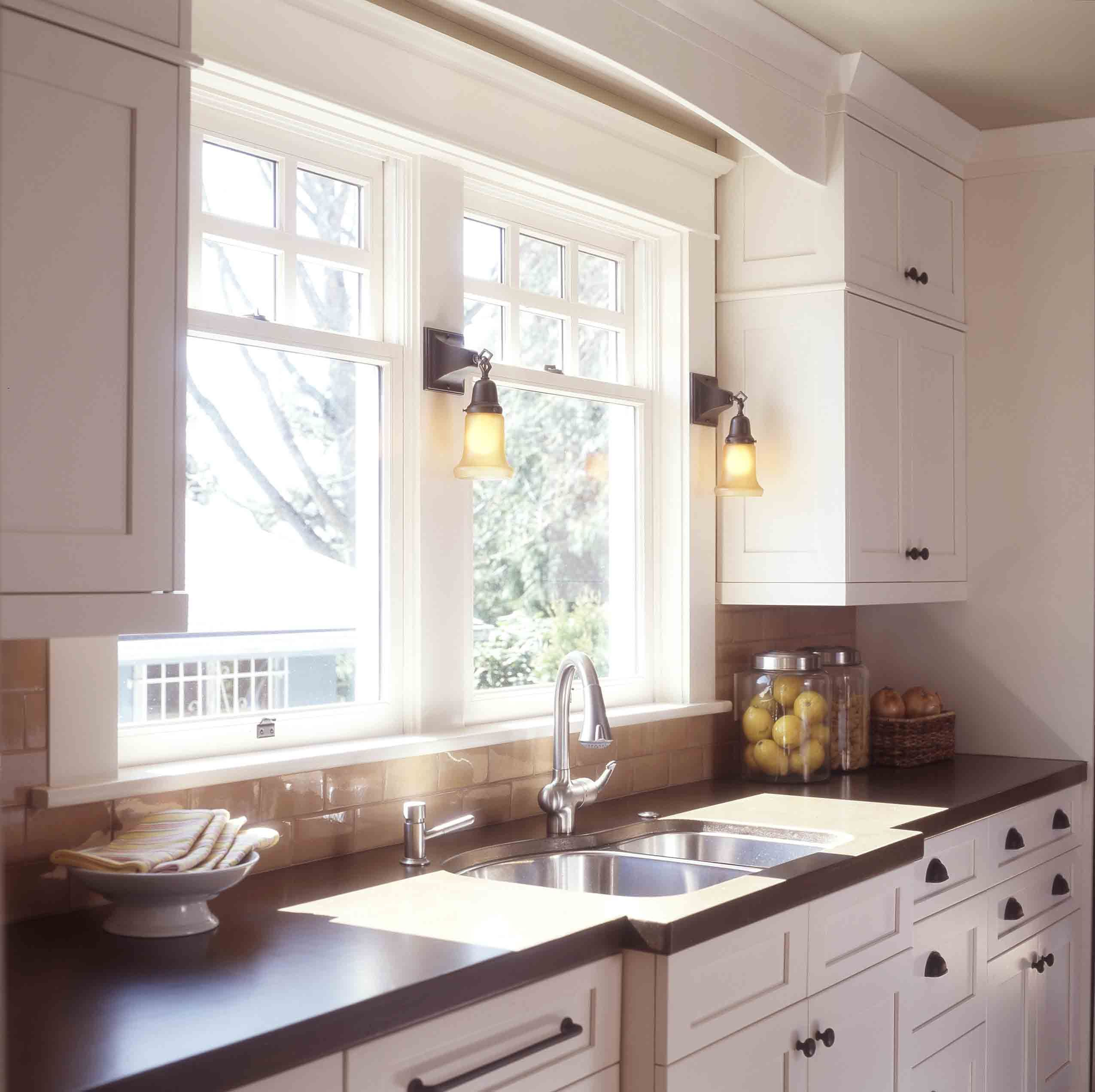 Kitchen Windows: Craftsman Style Kitchens On Pinterest