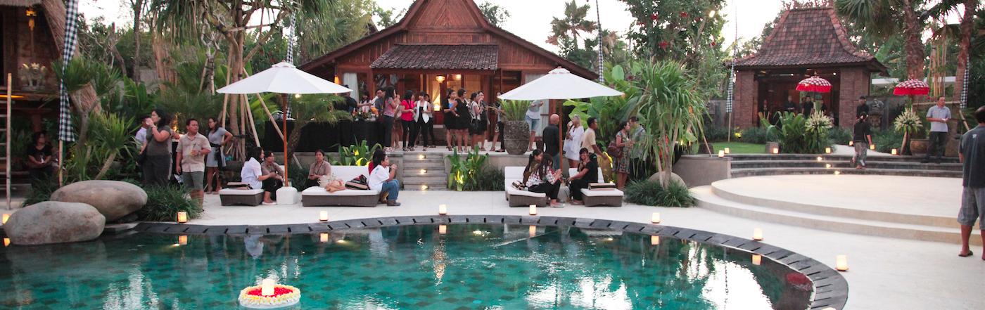 Birthday Party @Dea Villas #Party #event #bali #Indonesia #DeaVillas #villaSati