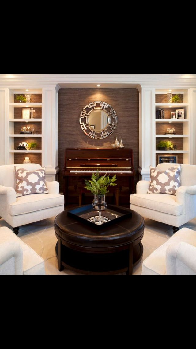 Love lots about this living room! The ZGallerie mirror, the ivory - wohnzimmer weis gestalten