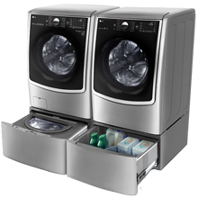LG WM3997HWA : Front Load Washer / Dryer Combo | LG USA