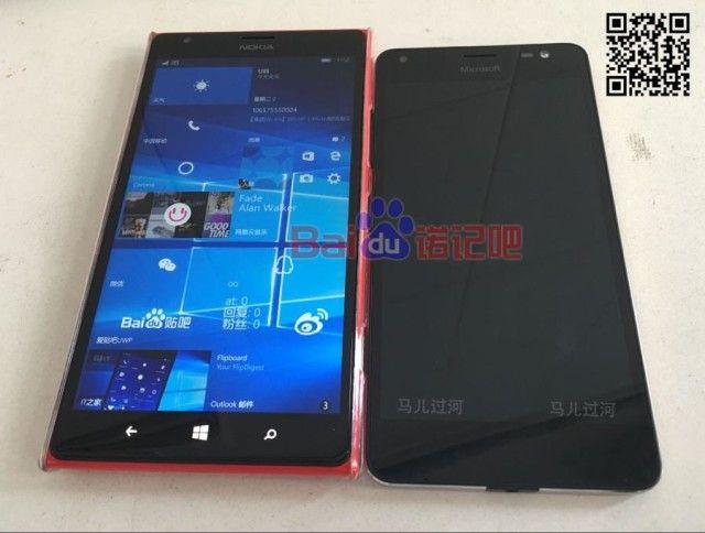 Microsoft Lumia 650 XL filtrado en una imagen