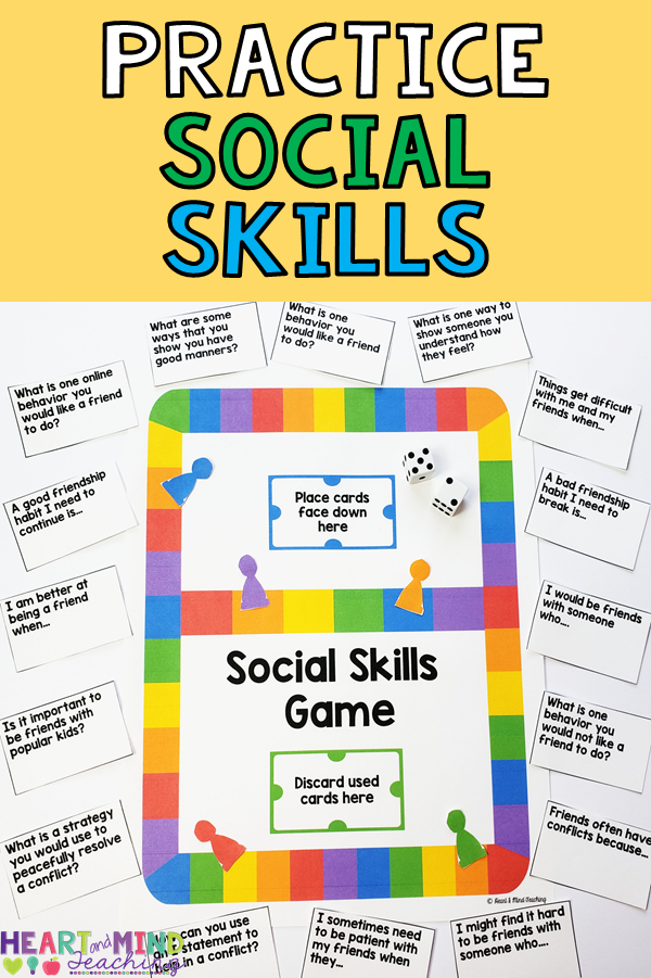 Social Skills game to encourage positive social choices ...