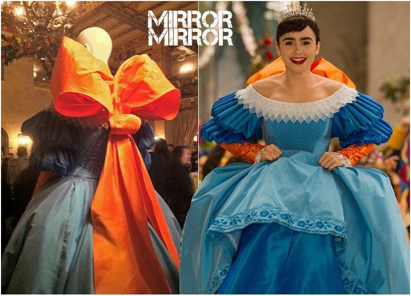 Eiko Ishioka S Mirror Mirror 2012 Costume Design Eiko Ishioka Mirrored Costume