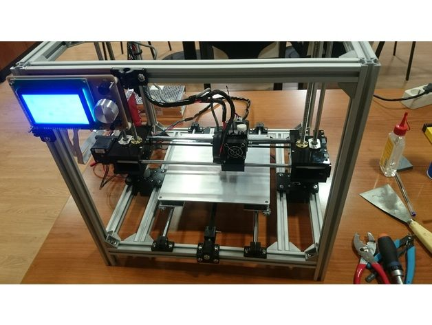 Anet A6 Evolution Cube Type Printer By Jgbbob8
