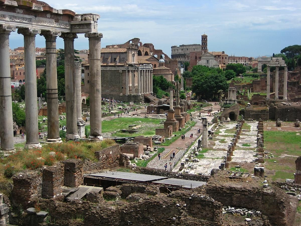 Rome- The Roman Forum | Cool places to visit, Rome travel ...