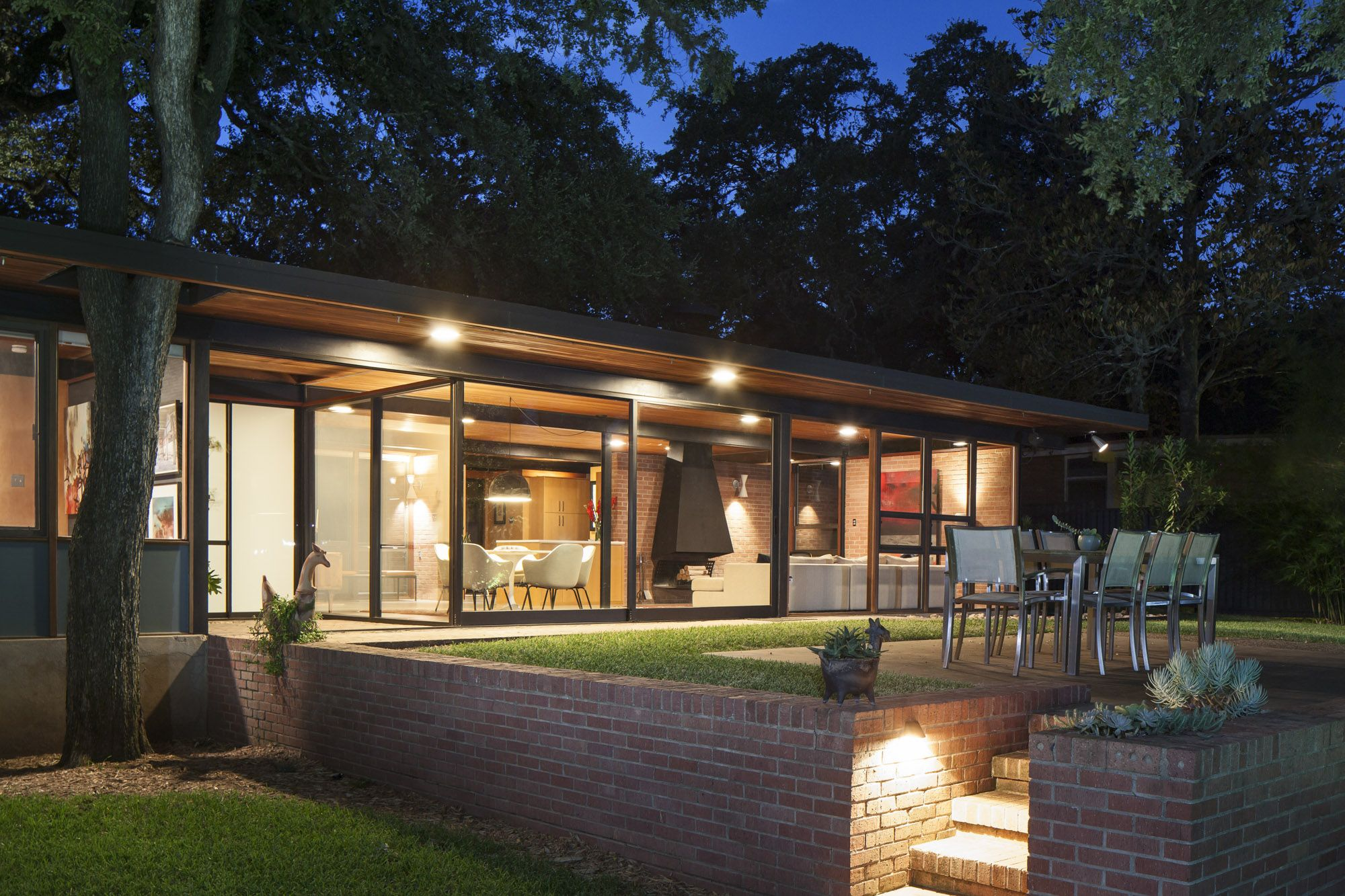 Mid Century Modern Austin Icon Now For Sale Real Estate