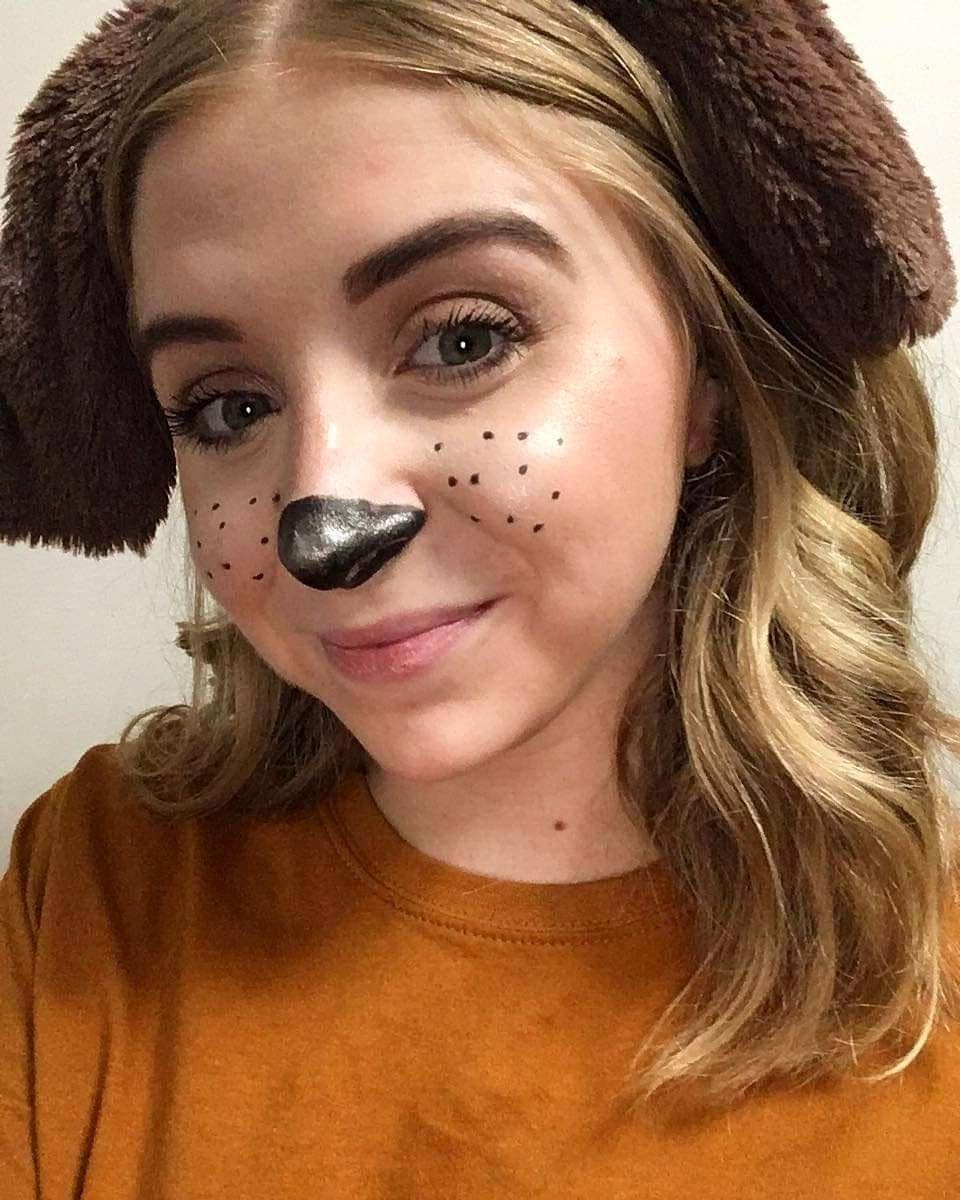 Dog Halloween Makeup.Diy Halloween Dog Makeup Dog Makeup Duo Halloween Costumes Halloween