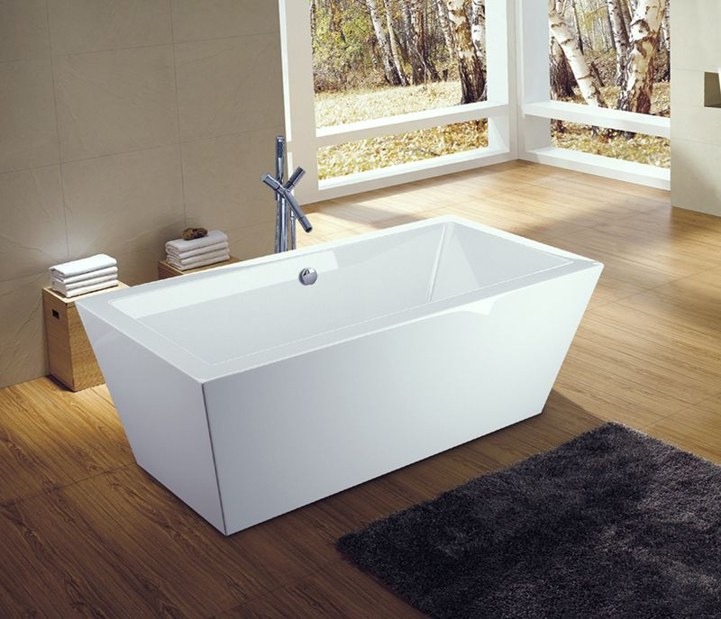Bathtub Freestanding with Drainer UPC & CUPC Approved Soaking Pool ...
