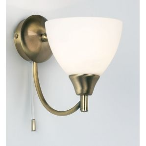 Empire Lighting 1805 1an Alton 1 Light Switched Wall Light Antique Brass Wall Lights Wall Lights Antique Brass Wall Light With Switch