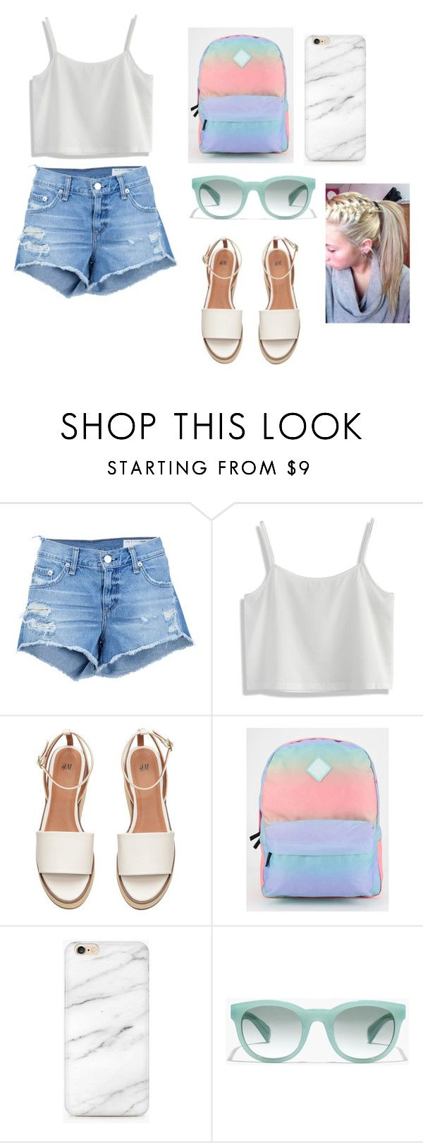 """""""Cool 4 the summer :)"""" by norishaa on Polyvore featuring rag & bone/JEAN, Chicwish, Vans and J.Crew"""