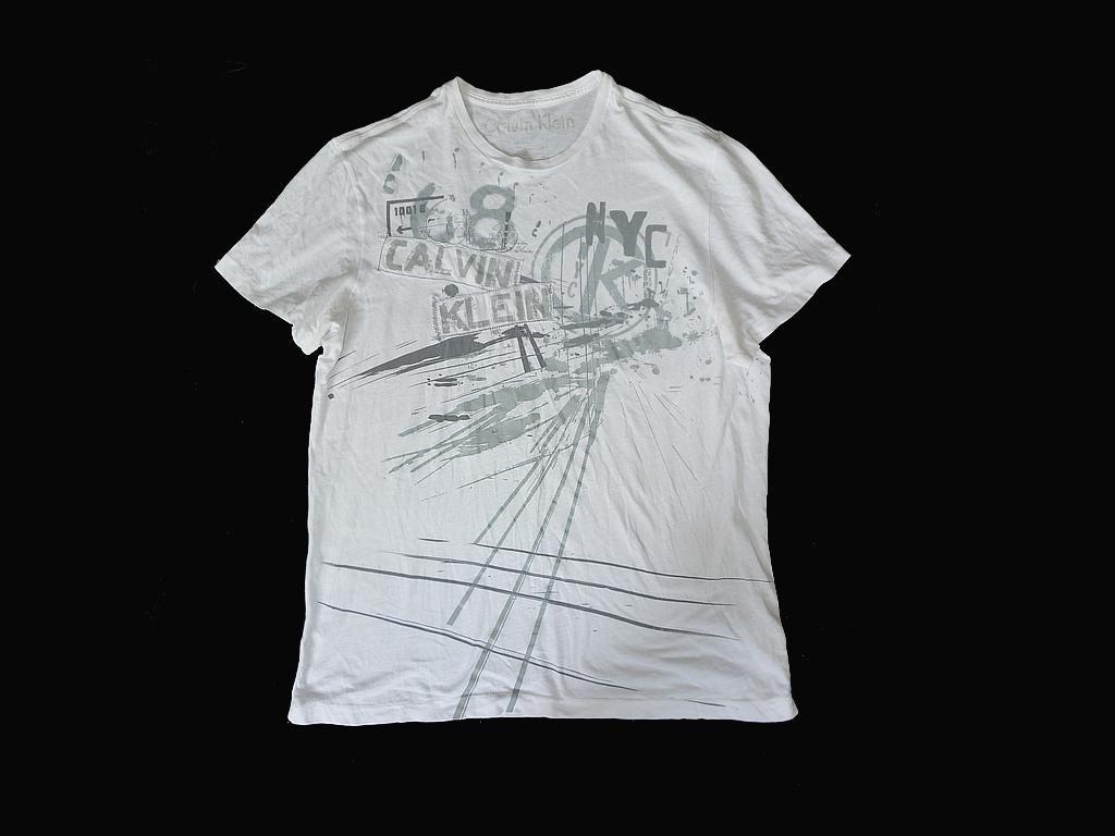 Calvin Klein Jeans Damski T Shirt Koszulka M Hit 8901077019 Allegro Pl