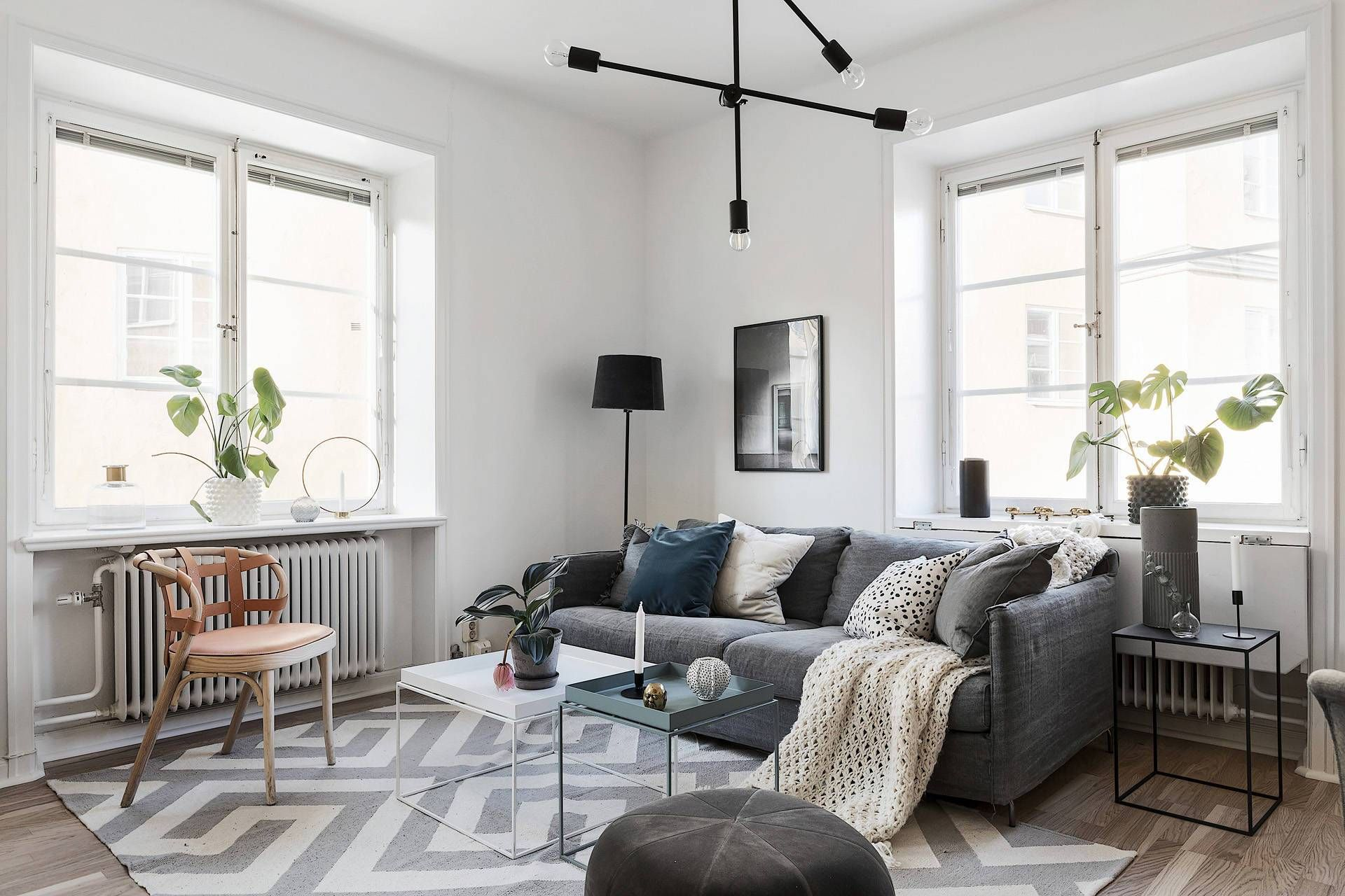 Room Redo Industrial Scandi Chic Living Room By Posh Pennies Industrial Chic Living Room Scandi Living Room Chic Living Room