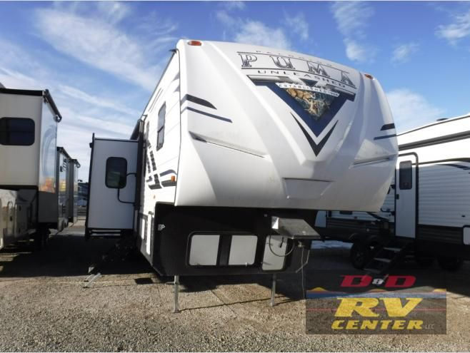 New 2020 Palomino Puma Unleashed 383dss Toy Hauler Fifth Wheel At