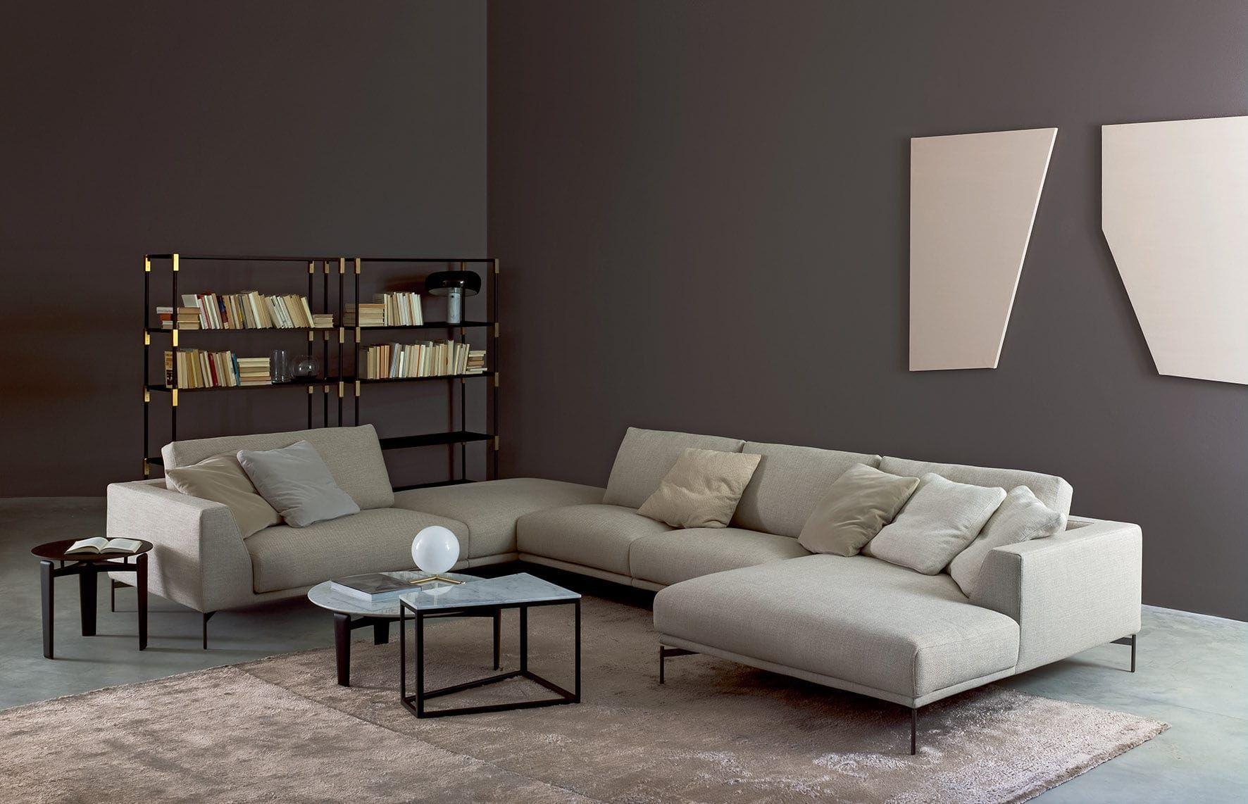 Eck Sofa Modul modern für Innenbereich HOLLYWOOD by Claesson