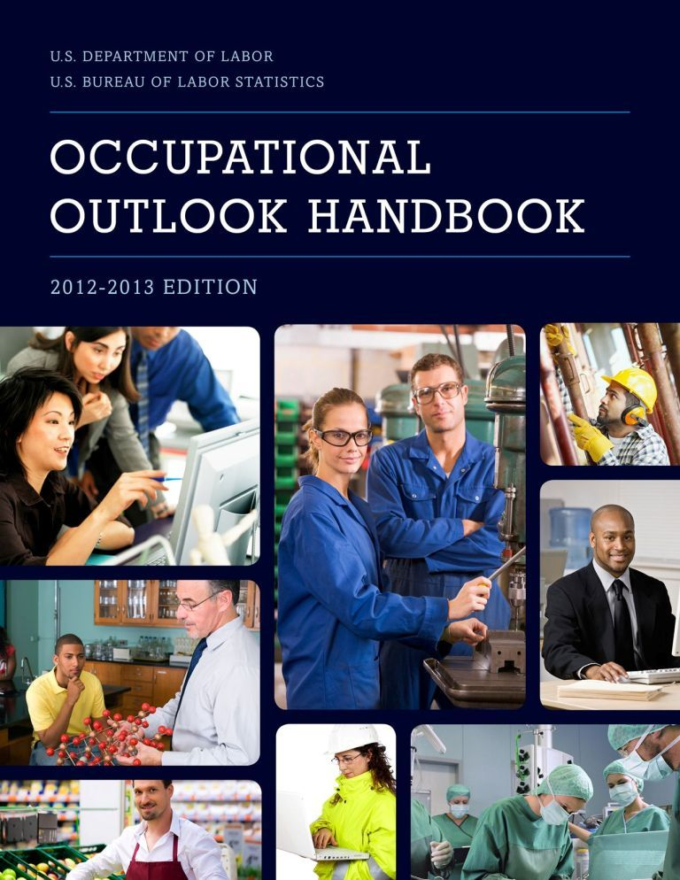"""The Occupational Outlook Handbook is the """"nation′s premier"""