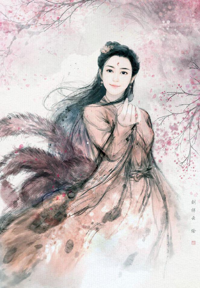 Eternal Love《三生三世十里桃花》Illustrations + Chibis Beautiful