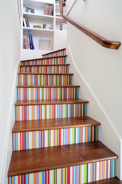 traditional staircase by JWT Associates