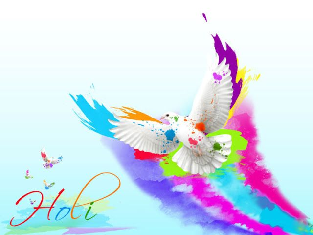Wallpaper}} Happy Holi Photos, HD Wallpapers, Images for