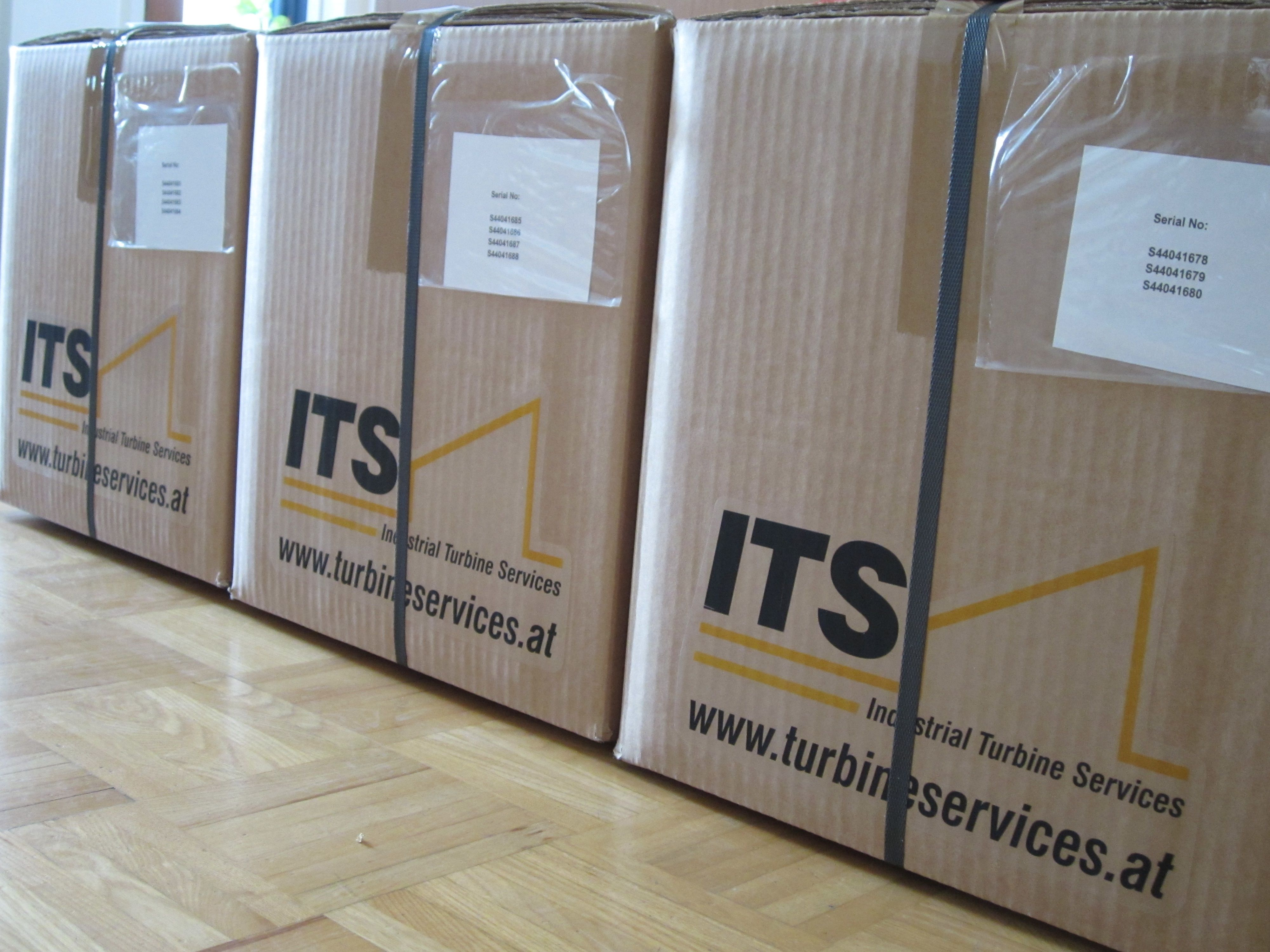 Spare parts are on the way to our partners on time