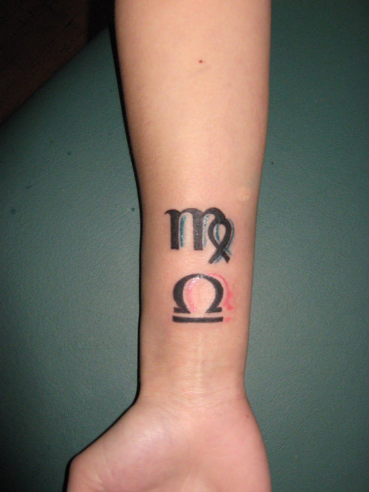 virgo/libra cusp tattoo idea. | body : ink | pinterest | virgo