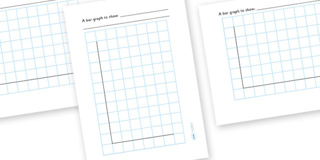 Twinkl Resources  Bar Graph Template  Classroom Printables For