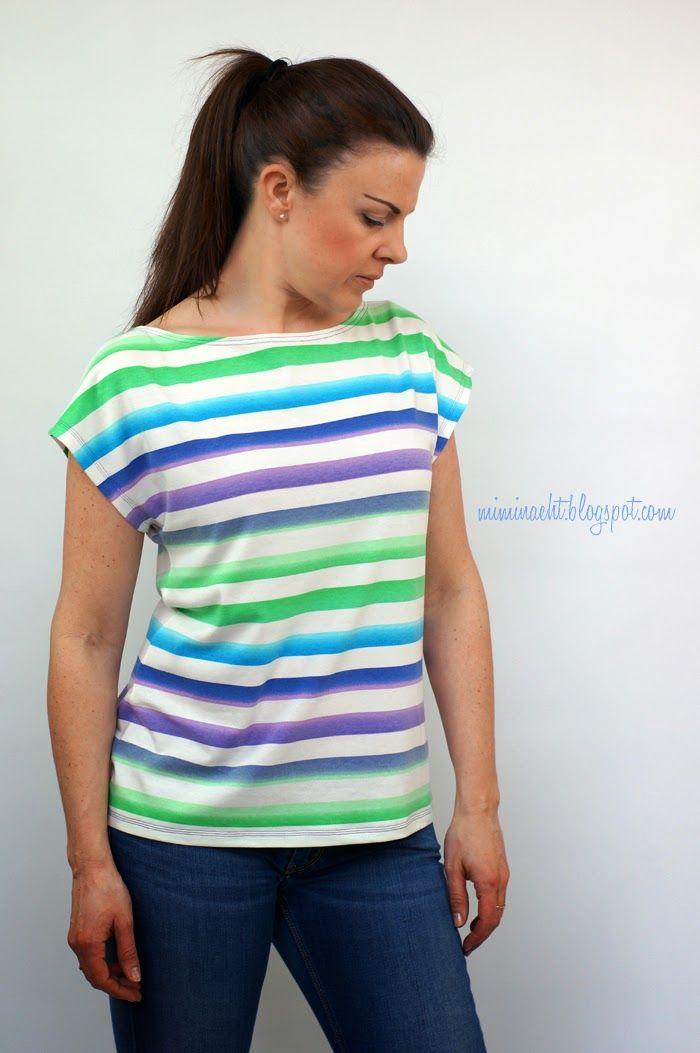 lillesol & pelle Schnittmuster/ pattern: Sommershirt/ Shirt | Nähen ...
