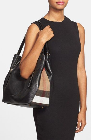 Burberry Medium Maidstone Leather Tote Nordstrom