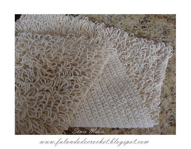crochet rug. point ring. more directions: http://falandodecrochet.blogspot.com/2011/05/tapete-de-croche-no-ponto-argola-eou.html
