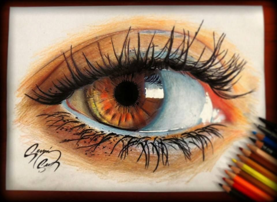Waooow ! | Drawing And Doodles | Pinterest | Brown Eyes Eyes And Exercise