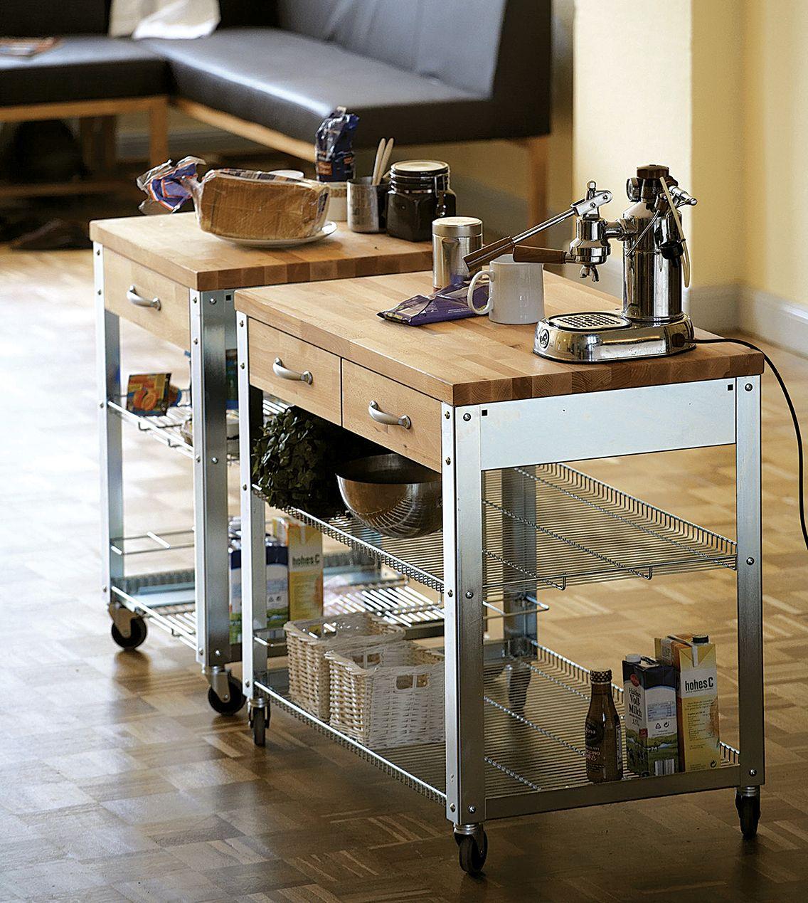 der k chenwagen culinara erweist sich als praktischer helfer in jeder k che er bietet. Black Bedroom Furniture Sets. Home Design Ideas