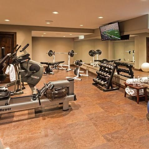 Home Gym Design Ideas, Pictures and Remodels #homegyms Home