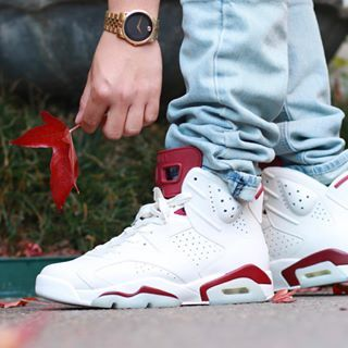check out 87150 93eac Image result for maroon 6s on feet | K!CK$ | Sneakers nike ...