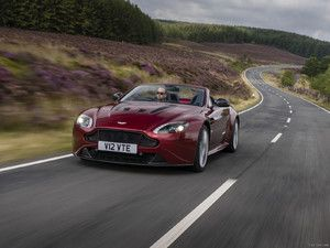 2015 Aston Martin V12 Vantage S Roadster (Diavolo Red, UK-Spec)  - Front - Picture # 13